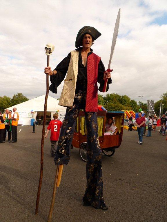Stilt Pirate